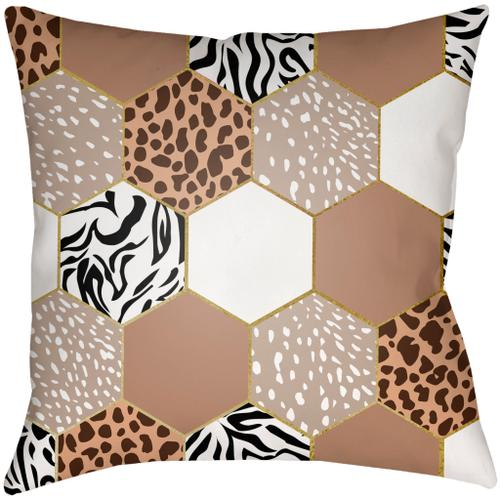 "Animal Hexigon AHX-001 16""H x 16""W"