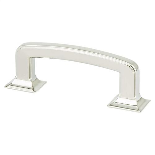 Designers Group Ten 3 inch CC Polished Nickel Hearthstone Pull