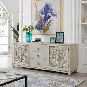 Liberty Furniture Industries - 2 Door 3 Drawer Accent Cabinet