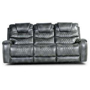 Park Avenue Triple Power Sofa, Grey
