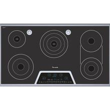 """See Details - Masterpiece 36"""" Electric Cooktop with Touch Control and Sensor Dome and Bridge Element CES366FS"""