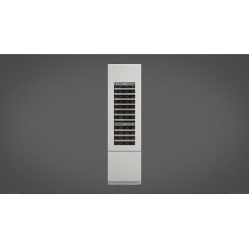 """24"""" Pro Built-in Wine Cellar - Right Door - Overlay Panel"""