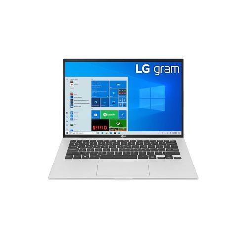 LG - LG gram 14'' Ultra-Lightweight and Slim Laptop with Intel® Evo 11th Gen Intel® Core™ i7 Processor and Iris® Xe Graphics
