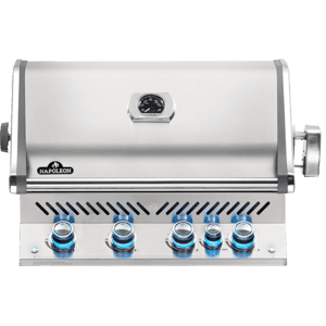 Napoleon BBQBuilt-in Prestige PRO 500 RB with Infrared Rear Burner , Stainless Steel , Propane
