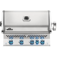 Built-in Prestige PRO 500 RB with Infrared Rear Burner , Stainless Steel , Propane