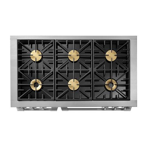 "48"" Dual Fuel Pro Range, DacorMatch Natural Gas/High Altitude"