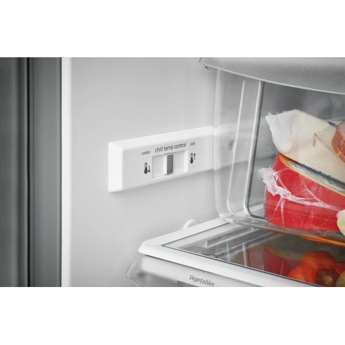 Frigidaire Gallery - Frigidaire Gallery 25.5 Cu. Ft. Side-by-Side Refrigerator