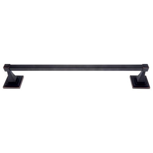 "Oil Rubbed Bronze 24"" Gradus Towel Bar Set"