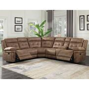 Anastasia 3-Piece Reclining Sectional Product Image