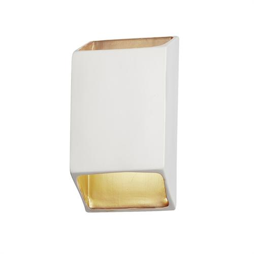 Small ADA Tapered Rectangle LED Wall Sconce (Open Top & Bottom)