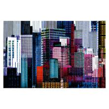 See Details - Colourful Skyscrapers - Giant Art