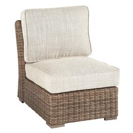 Beachcroft Armless Chair With Cushion