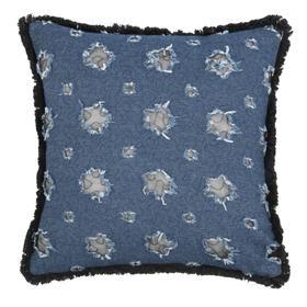 Tosh Pillow - Blue / Navy