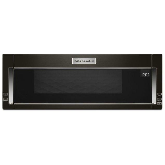 KitchenAid 1000-Watt Low Profile Microwave Hood Combination with PrintShield™ Finish - Black Stainless Steel with PrintShield™ Finish