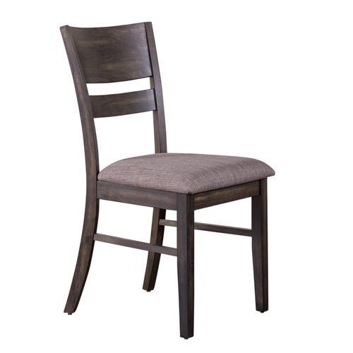 Gallery - Slat Back Upholstered Side Chair