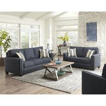 Carmelle Upholstered Sofa, Indigo