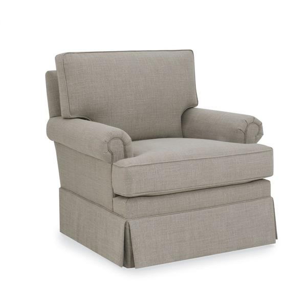 Rolled Arm Swivel Chair