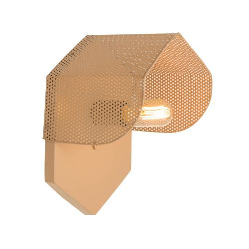 Tov Furniture - Mokhtar Tan Hexagon Wall Sconce