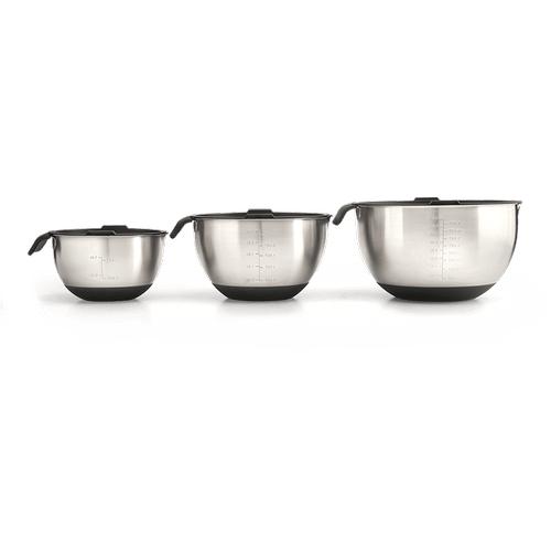 3 Piece Marinating Bowl Set