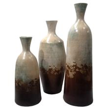 View Product - Water Blue: Campana Bottle (Set of 3)