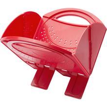 View Product - BALLARINI Accessories Foldable Colander - Red, plastic