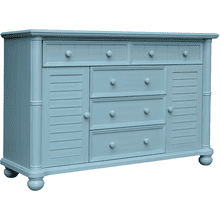 Beachfront Blue Dresser