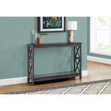 """ACCENT TABLE - 48""""L / GREY HALL CONSOLE"""