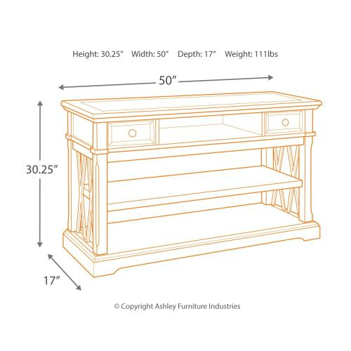 Roddinton Sofa/console Table