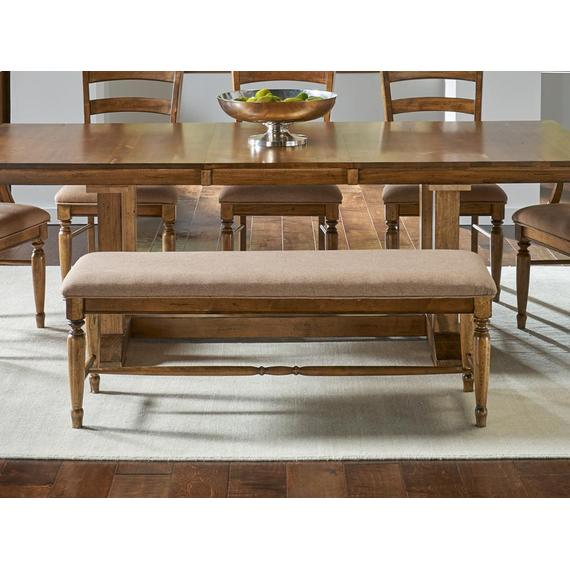 A America - Upholstered Bench