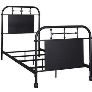 Liberty Furniture Industries - Twin Metal Bed - Black