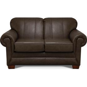 1436LS Monroe Leather Loveseat