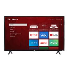 "TCL 50"" Class 4-Series 4K UHD HDR Roku Smart TV - 50S421"