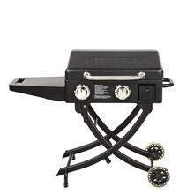 View Product - Sportsman Portable 2-Burner Griddle w/ Legs