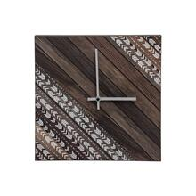 Herringbone Clock