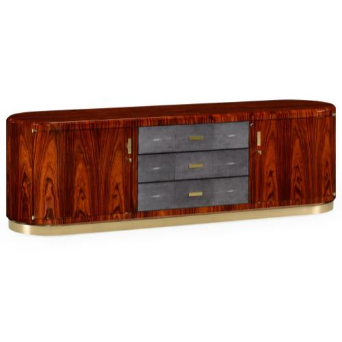Santos rosewood TV entertaiment unit - high sheen