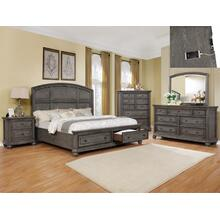 Lavonia Queen Footboard W/storage