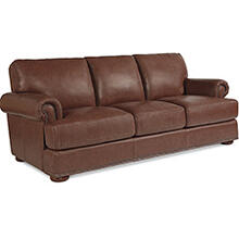 Andrew Sofa w/ Brass Nail Head Trim