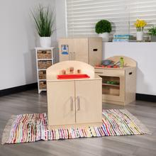 Product Image - Children's Wooden Kitchen Sink for Commercial or Home Use - Safe, Kid Friendly Design
