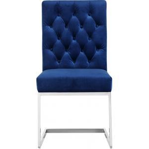"Carlton Velvet Dining Chair - 19"" W x 25.5"" D x 38"" H"