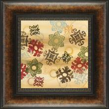 Cheerful Greeting Square I By Jeni Lee
