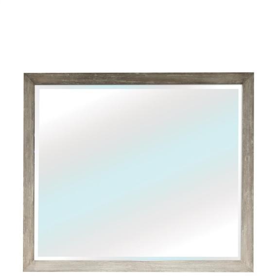 Riverside - Zoey - Mirror - Urban Gray Finish