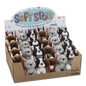 Soft Spots[TM] French Bulldogs (24 pc. ppk.)