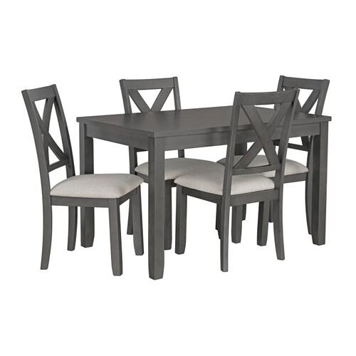 Standard Furniture - Sandpiper Gray Kitchen Table Set