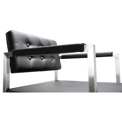 Tov Furniture - Director Black Steel Counter Stool