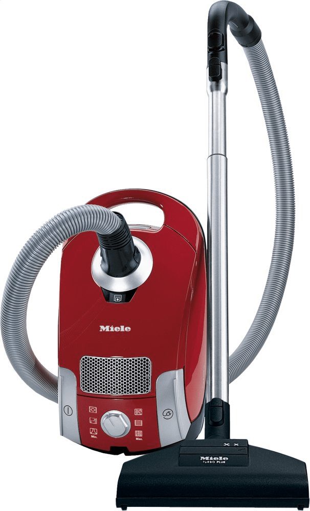 MieleCompact C1 Homecare Powerline - Scae0 - Canister Vacuum Cleaners With Turbo Brush For Hard Floor And Low, Medium-Pile Carpeting.