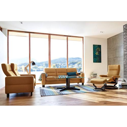 Stressless By Ekornes - Wave Low Back 1-Seater