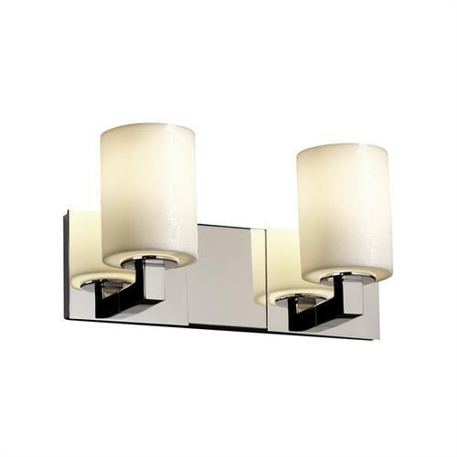 Modular 2-Light Bath Bar