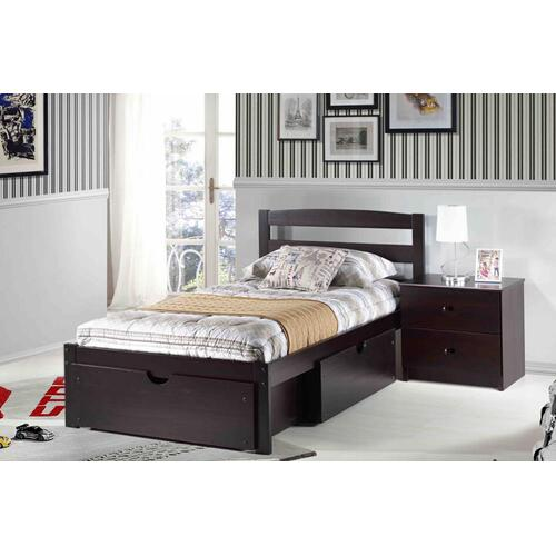 Berkeley Platform Bed (Espresso)