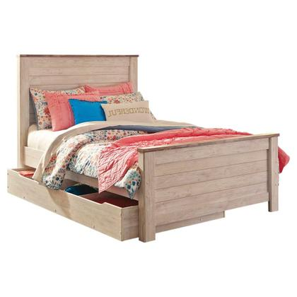 See Details - Willowton Full Panel Bed With 1 Large Storage Drawer