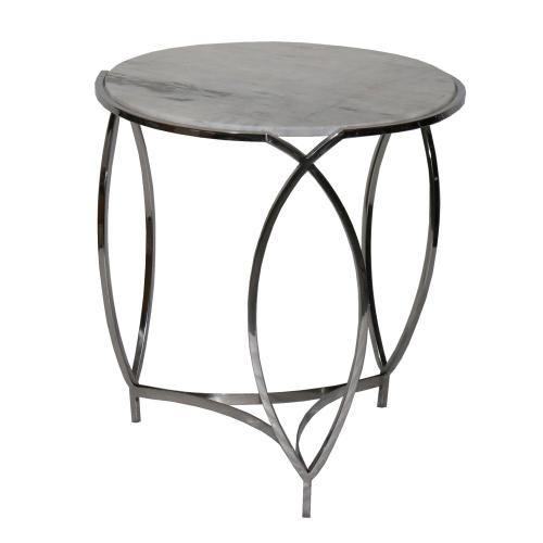 Product Image - St. Claire Round Marble End Table